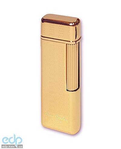 Pierre Cardin - Зажигалка газовая кремниевая золото с насечкой (арт. MF-29-04)