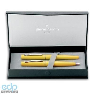 Pierre Cardin - Набор Yellow капиллярная и шариковая ручки желтый (арт. TS0100/2Y)