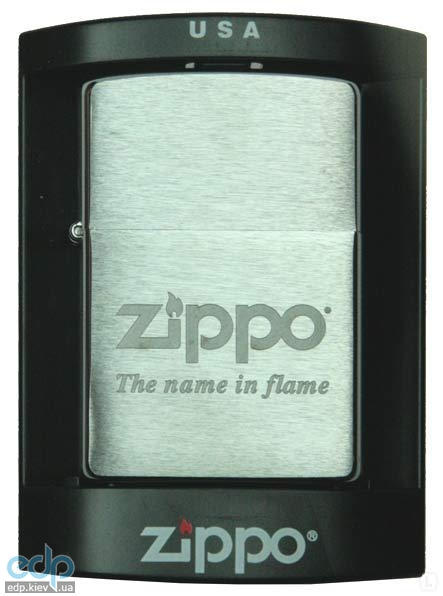 Зажигалка Zippo - The name in flame (100.040)