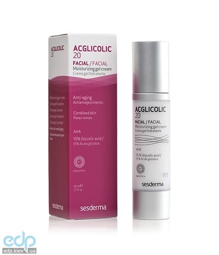 Sesderma - Увлажняющий крем-гель Acglicolic 20 Moisturizing Gel Cream - 50 ml (40000015)