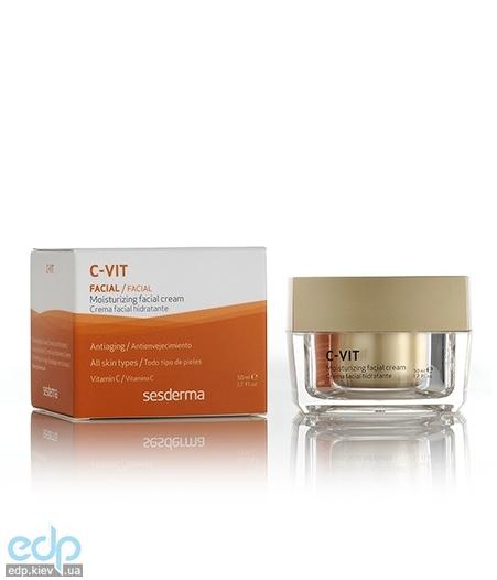 Sesderma - Увлажняющий крем против морщин C-Vit Moisturizing Face Cream - 50 ml (40000179)