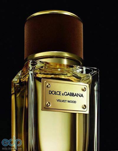 Dolce Gabbana Velvet Wood