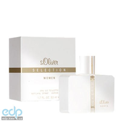 s.Oliver Selection for Woman - туалетная вода - 50 ml