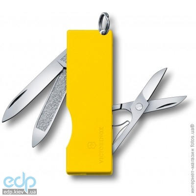 Складной нож Victorinox - Tomo - 58 мм, 5 функций желтый (0.6201.A8)