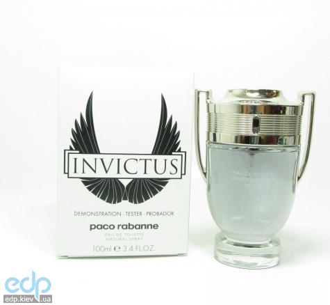 paco rabanne invictus 100 ml tester. Black Bedroom Furniture Sets. Home Design Ideas
