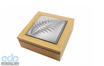 Pierre Cardin - шкатулка Pigalle 12 x 12 см цвет-клен (арт. PCPI13Q/2A)
