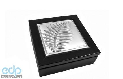 Pierre Cardin - шкатулка Pigalle 12 x 12 см цвет-венге (арт. PCPI13Q/2W)