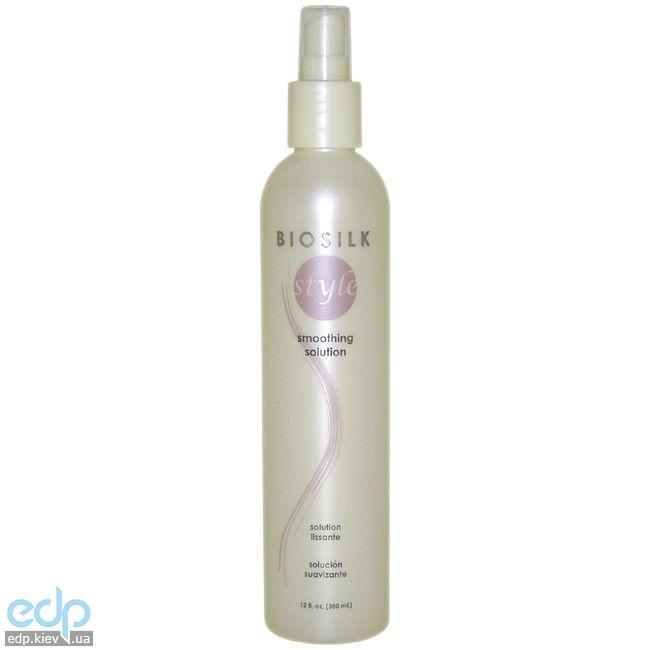 BioSilk Smoothing Solution - Спрей для выпрямления и гладкости волос - 350 ml (арт. BS7512)