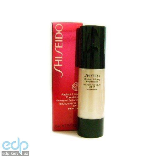 Shiseido - Крем тональный для лица с эффектом лифтинга для всех типов кожи Radiant Lifting Foundation SPF 15 № I60 - 30 ml