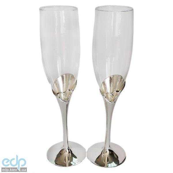 Lessner - Silver Набор для шампанского 2 предмета (арт. ЛС99103)