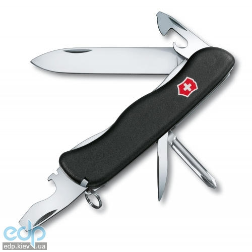 Складной нож Victorinox - Centurion - 111 мм, 11 функций матовый нейлон черный (0.8416.MW3)