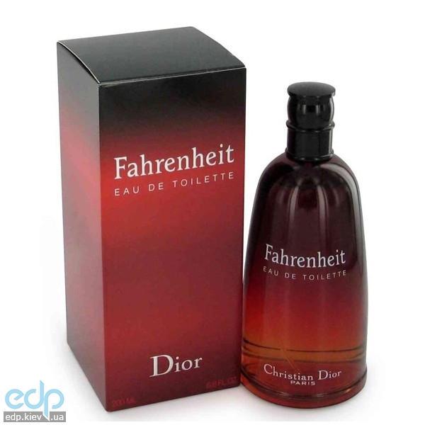 Christian Dior Fahrenheit -  Набор (туалетная вода 50 + b/g 50 + дезодорант 50)