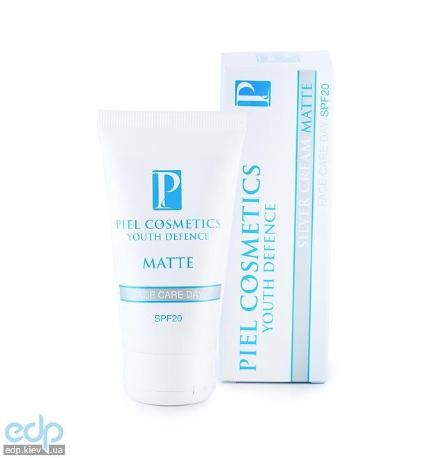 Piel Cosmetics Piel Youth Defense Silver Cream Matte SPF 20 - Ежедневный дневной уход за лицом c матирующим эффектом - 50 ml