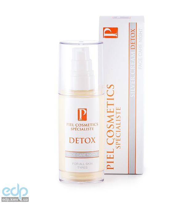 Piel Cosmetics Piel Silver Cream Detox Face Care Night - Ежедневный ночной уход за лицом для всех типов кожи - 55 ml