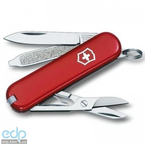 Складной нож Victorinox - Classic - 58 мм, 7 функций красный (0.06203)