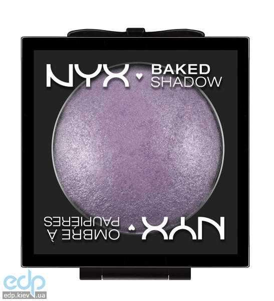 NYX - Запеченные тени Baked Eye Shadow Violet smoke BSH02 - 3 g