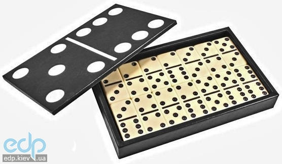 Настольная игра - Домино Duke в кожанном кейсе (арт. DSL05326)