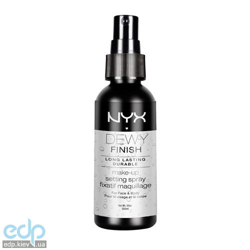 NYX - Спрей фиксатор для макияжа Makeup Setting Spray Сияющий финишный MSS02 - 60 ml