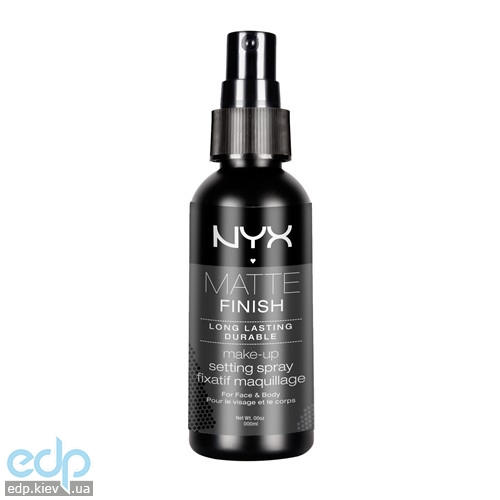 NYX - Спрей фиксатор для макияжа Makeup Setting Spray Матирующий финишный MSS01 - 60 ml