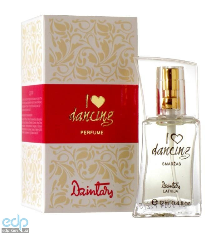 Dzintars (Дзинтарс) - Духи I love dancing - 12 ml (17009dz)