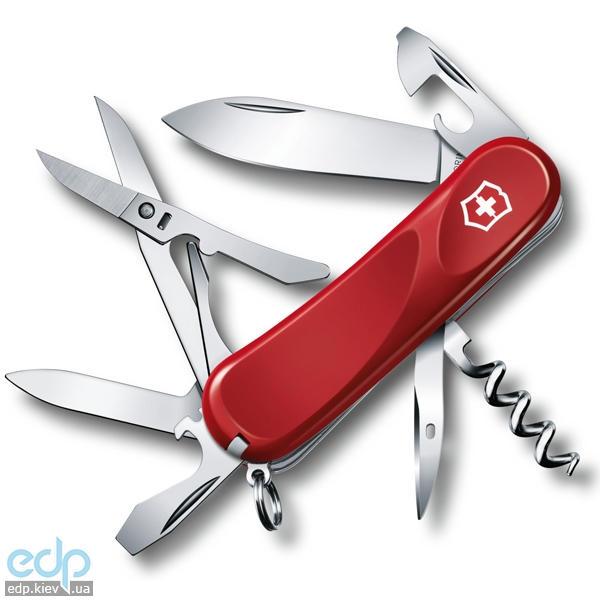 Складной нож Victorinox - Delemont Evolution 14 - 85 мм, 14 функций красный (2.3903.E)