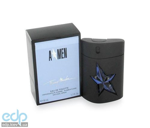 Thierry Mugler AnGel Men - (туалетная вода 100 ml + шампунь 50 ml + дезодорант стик 20 ml + сумка)