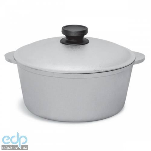 Биол - Казан алюминиевый с крышкой диаметр 22 см объем 3 л (КО300)
