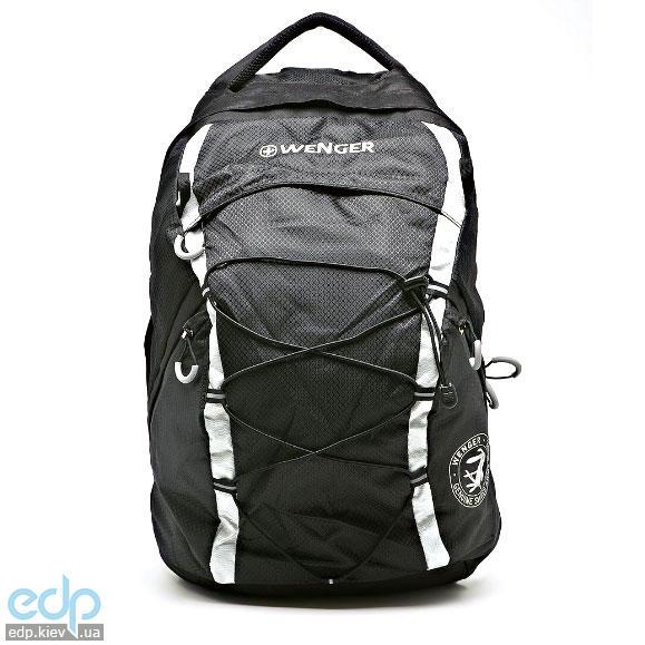 Wenger - Рюкзак черный/серебристый 28.5 х 19 х 47 см (арт. 30532499)