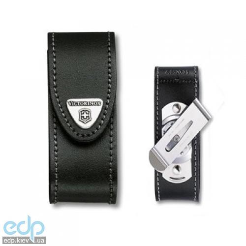 Чехол для ножа Victorinox - 84-91 мм черный поворотная металлическая клипса (4.0520.31)