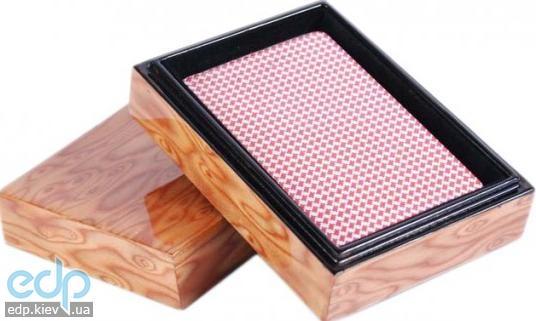 Настольная игра - Duke Колода карт в деревянной шкатулке (арт. B13L)