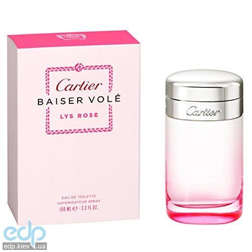 Cartier Baiser Vole Lys Rose - туалетная вода - 100 ml