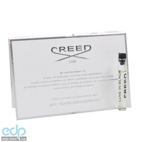 Creed Love in Black - туалетная вода - пробник (виалка) 2.5 ml