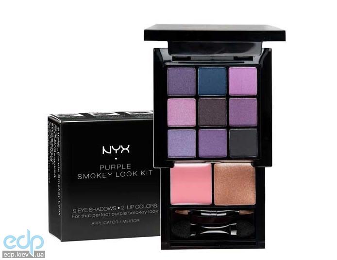 NYX - Набор косметики Purple Smokey Look S109P - 1.15 g