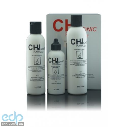 CHI 44 Ionic Power Plus Hair Loss Kit for Normal to Fine Hair - Набор против выпадения нормальных и тонких волос (арт. CHI5510)