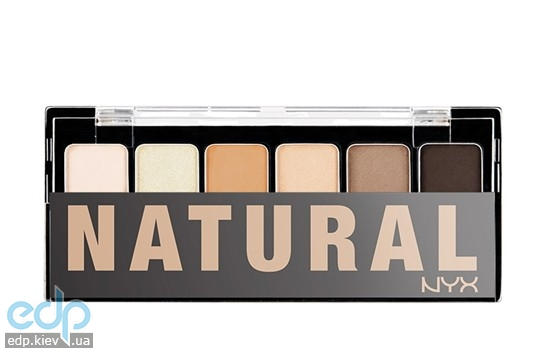 NYX - Палетка теней The Naturale Shadow Palette - 6 g