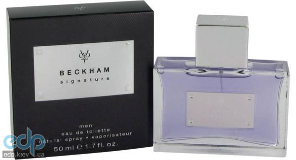 David Beckham Signature for Him - туалетная вода - 75 ml