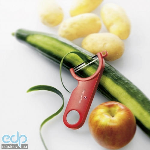 Нож кухонный Victorinox - Нож для чистки овощей Swiss - красный (7.6073)