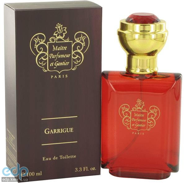 Maitre Parfumeur et Gantier Garrigue Homme - туалетная вода - 100 ml TESTER