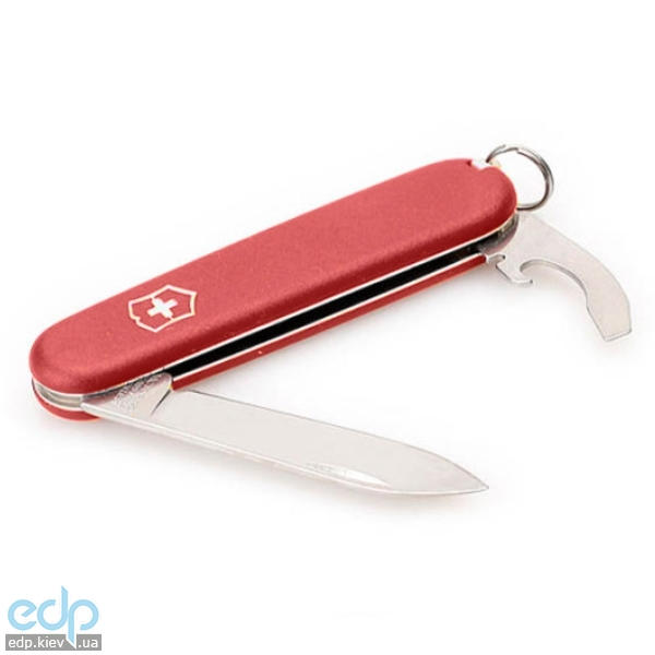 Складной нож Victorinox - EcoLine Bantam - 84 мм, 8 функций матовый нейлон красный (2.2303)