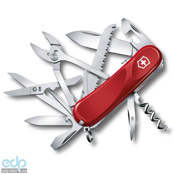 Складной нож Victorinox - Delemont Evolution S52 - 85 мм, 20 функций красный (2.3953.SE)