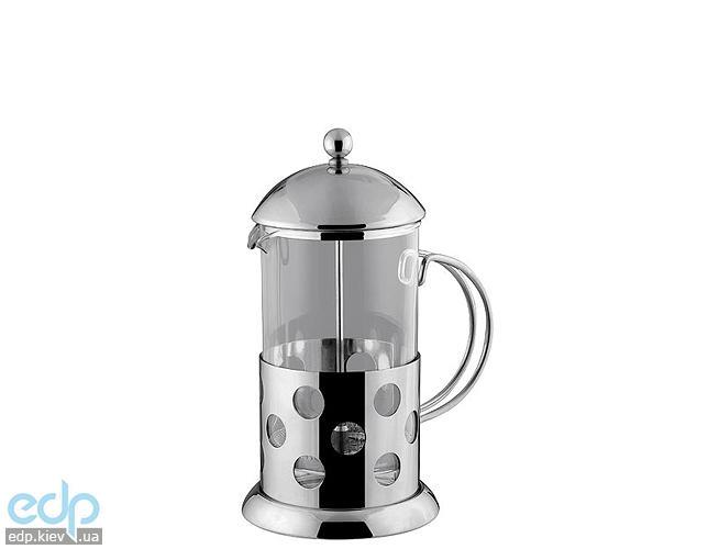 Vinzer - Кофейник / Заварник Circle - нержавеющая сталь, стекло Pyrex, 350 мл (арт. 89366)