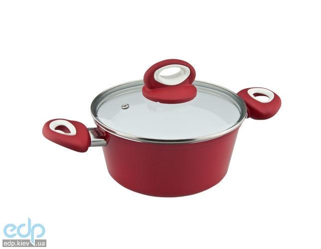 Vinzer - Кастрюля с крышкой Cast Eco Ceramic Induction Line - объем 2.4 л диаметр 20 см (арт. 89468)