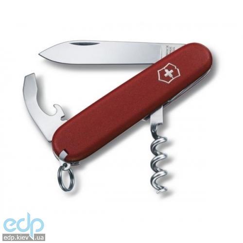 Складной нож Victorinox - EcoLine Waiter - 84 мм, 9 функций матовый нейлон красный (2.3303)