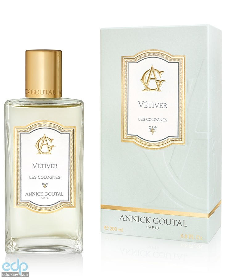 Annick Goutal Les Colognes Vetiver For Men - одеколон - 200 ml (новый дизайн)