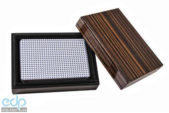 Настольная игра - Duke Колода карт в деревянной шкатулке (арт. B14L)