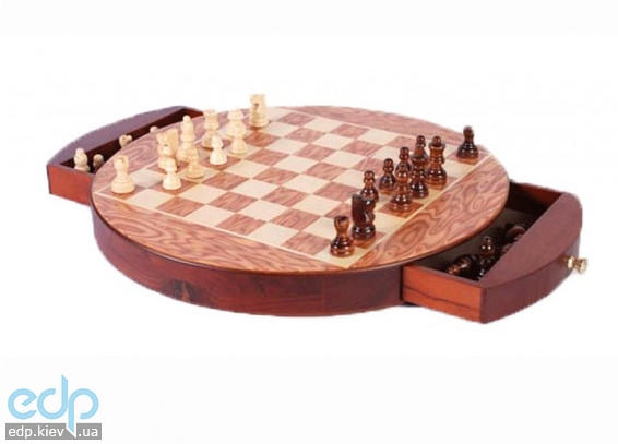 Настольная игра - Магнитные шахматы Elite в деревянной коробке 41 x 41 см (арт. CS15-12)