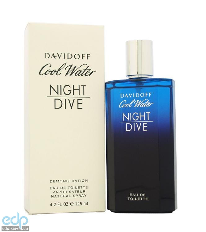 Davidoff Cool Water Night Dive - туалетная вода - 125 ml TESTER