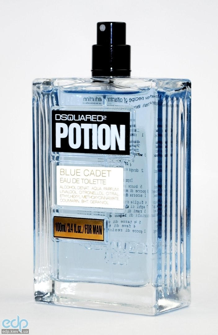 Dsquared 2 Potion Blue Cadet Men - туалетная вода - 100 ml TESTER