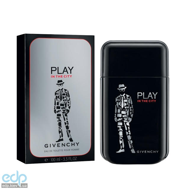 Givenchy Play in The City for Him - туалетная вода – 100 ml