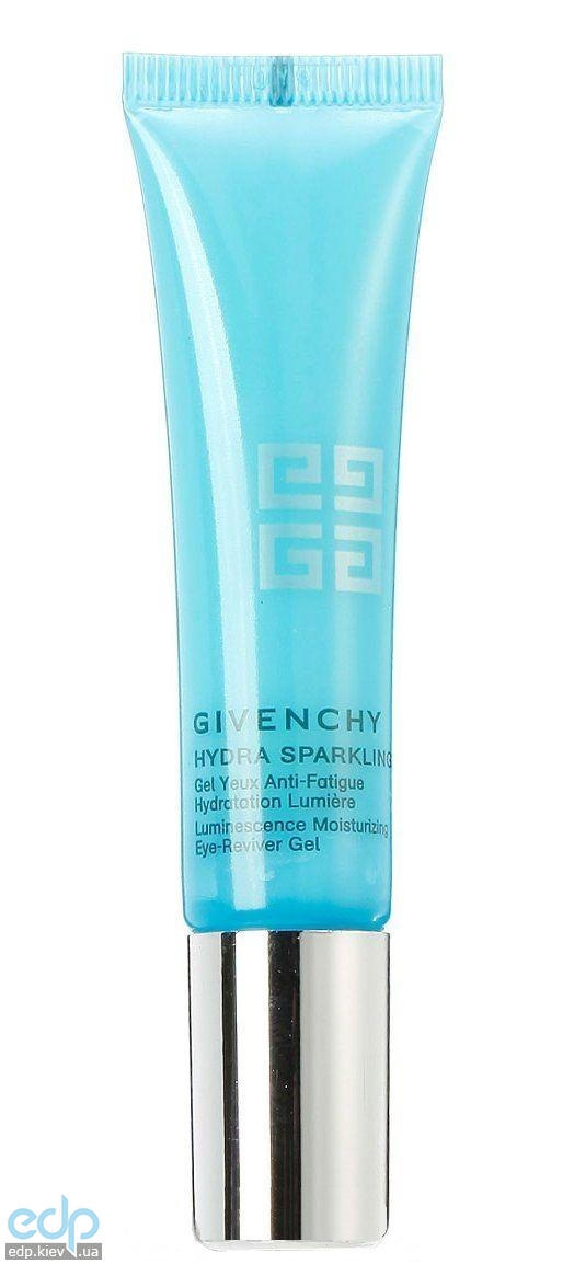 Увлажняющий гель для век Givenchy - Hydra Sparkling Luminescence Moisturizing Eye-Reviver Gel - 15 ml